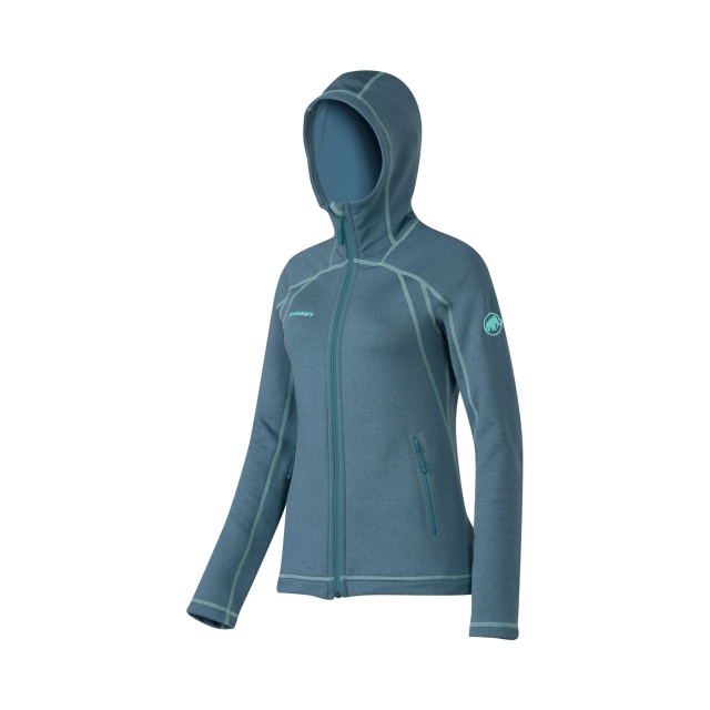 Mammut - - Nova Jacket W - x-small - Dark Pacific Melange