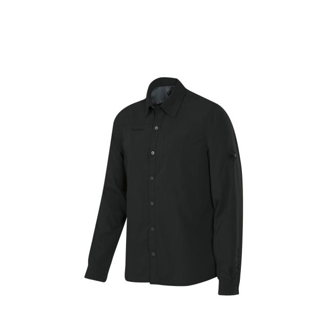 Mammut - - Tempest LS Shirt M - medium - Graphite