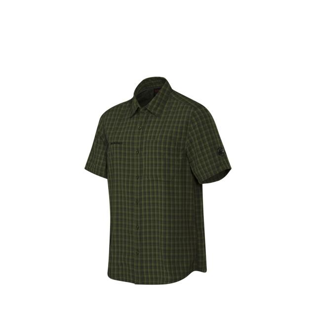 Mammut - - Lenni SS Shirt M - small - Graphite Seaweed