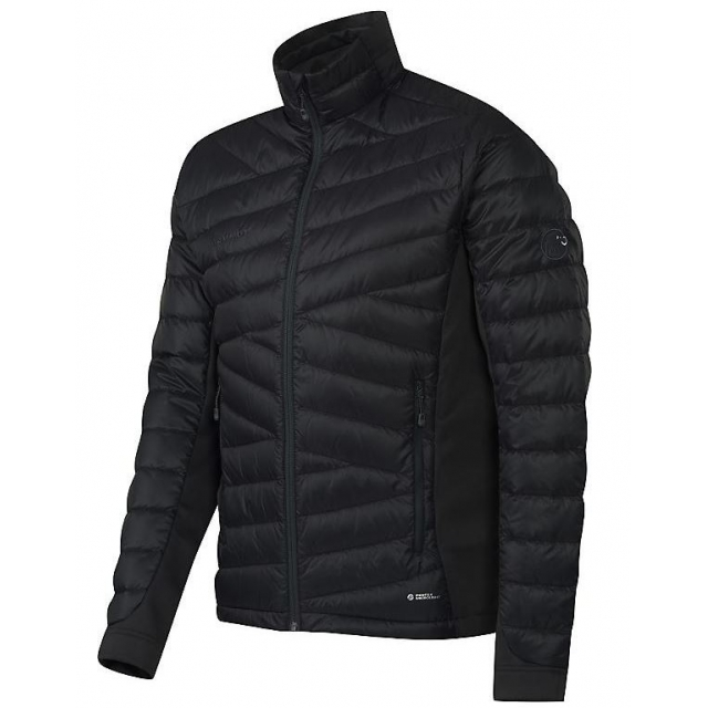 Mammut - mens flexidown jacket black/ graphite