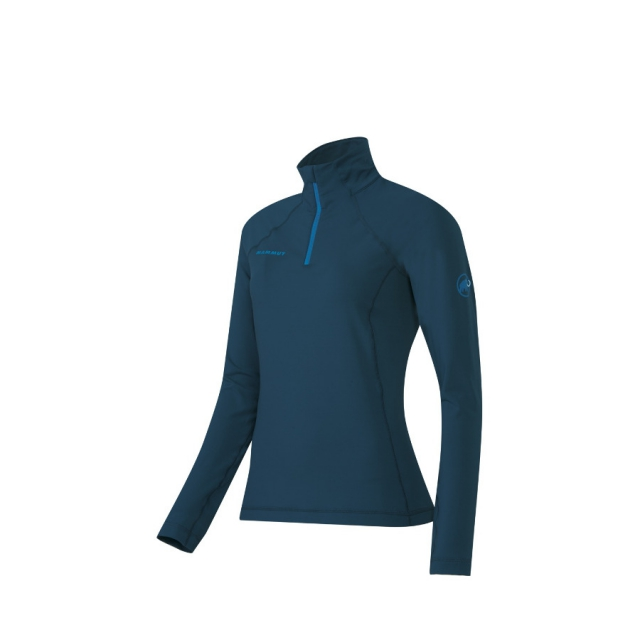 Mammut - Women's Snow ML Half Zip Pull