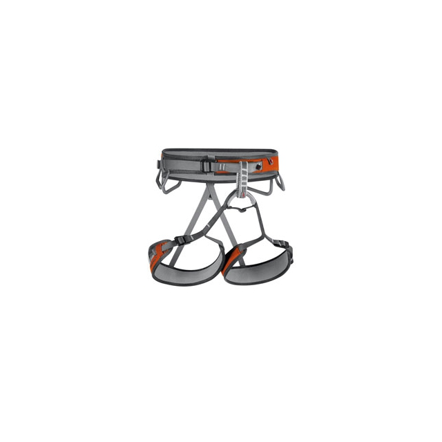 Mammut - Ophir 3-Slide Harness - Men's - Smoke-Orange In Size