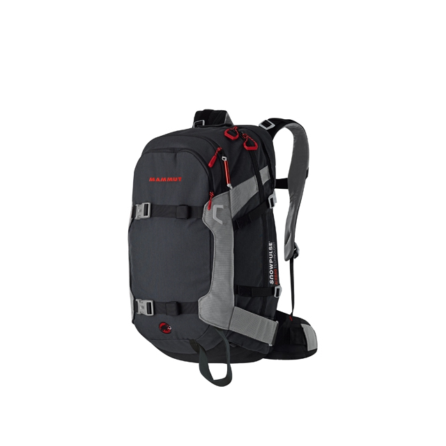Mammut - Ride 30 R.A.S. Avalanche Airbag Backpack: Black/Smoke