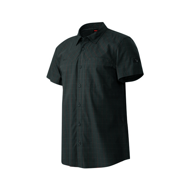 Mammut - Buckwell Shirt - Men's: Graphite-Inferno, Medium