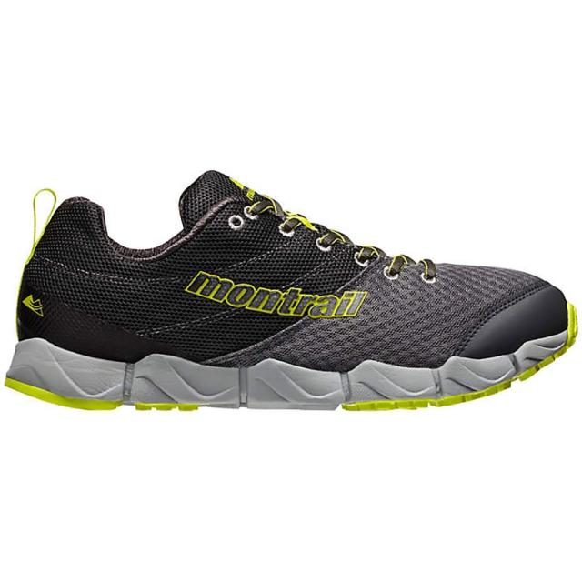 Montrail - Fluidflex II Shoe Mens - Quarry/Chartreuse 11