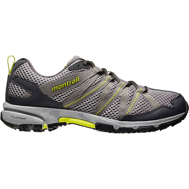 Montrail - Mountain Masochist 3 Shoe Mens - Light Grey/Chartreuse 11.5