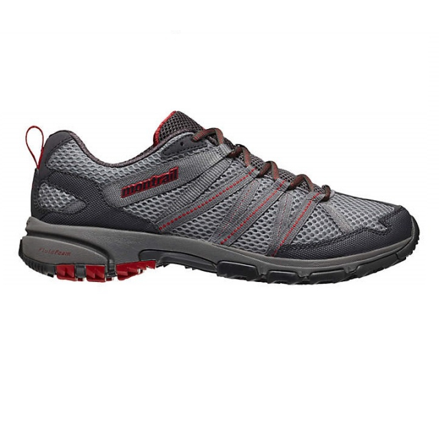 Montrail - mens mountain masochist iii light grey/ rocket