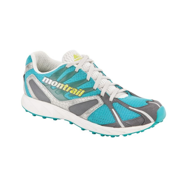 Montrail - Rogue Racer Trail Running Shoes Womens closeout (Reef/Voltage)