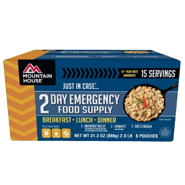 Mountainsmith - Mountain House 2 Day Emergency Food Supply