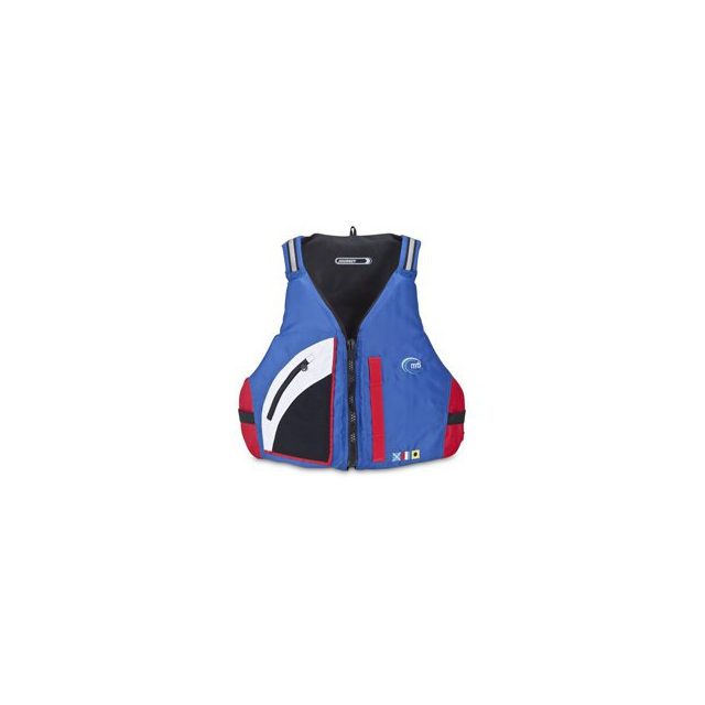 MTI - MTI Adventurewear Journey Mariner PFD - Blue/Red In Size: XXL-3XL