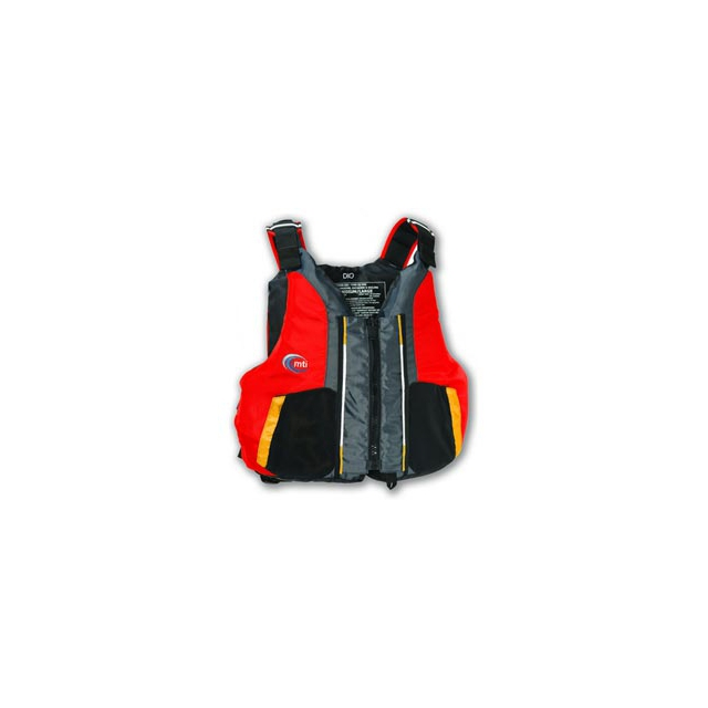 MTI - MTI Adventurewear Dio High Back PFD - Red In Size