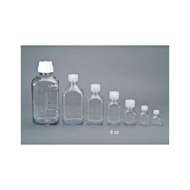 Nalgene - 8oz Narrow Mouth Square Bottle