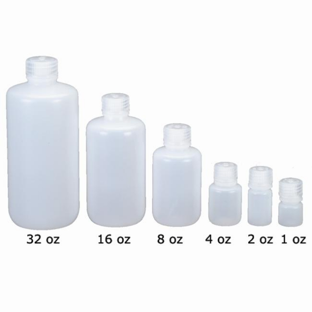 Nalgene - Small Narrow Mouth Polyethylene Bottles