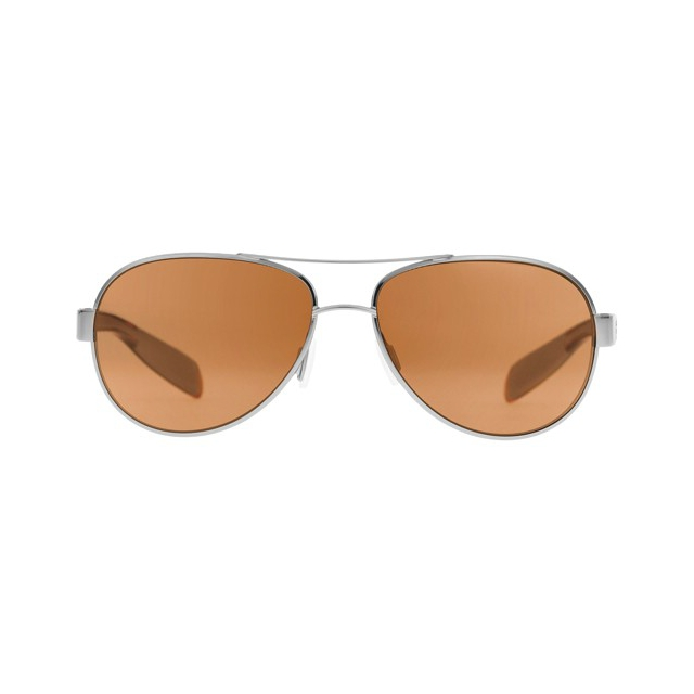 Native Eyewear - Haskill - Chrome/Maple Tort / Brown