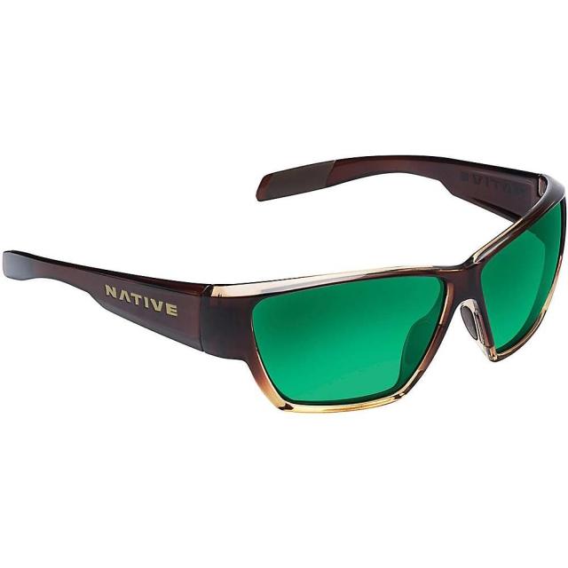 Native Eyewear - - Wolcott - Blue Reflex (Gray) - Asphalt