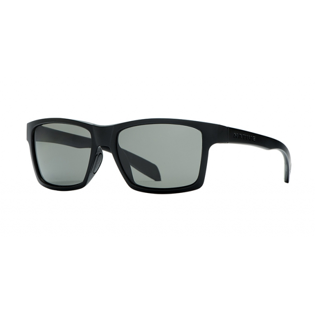 Native Eyewear - - Flatirons - Iron/Gray Lens