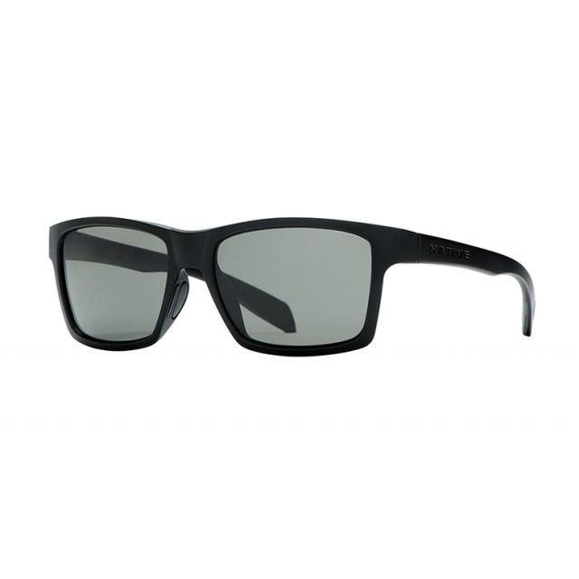 Native Eyewear - - Flatirons - Iron/Gray Lens in Ashburn Va