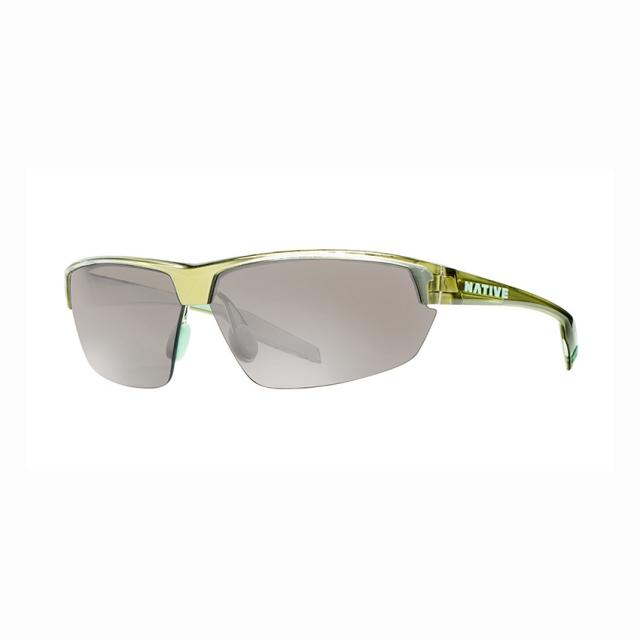 Native Eyewear - hardtop ultra metallic fern w/ silver reflex