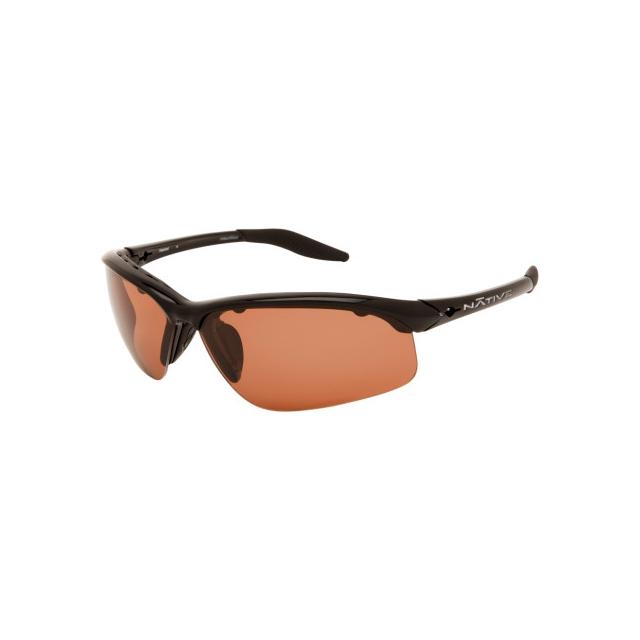 Native Eyewear - hardtop xp iron polarized copper reflex