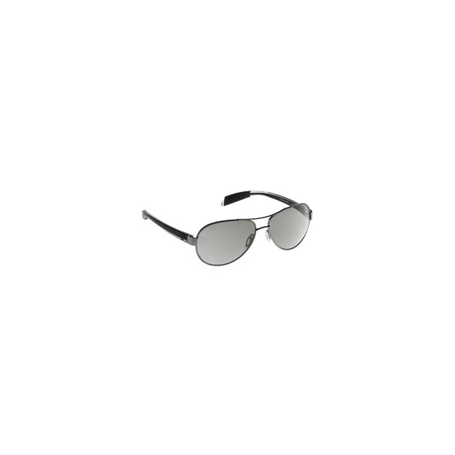 Native Eyewear - Haskill Polarized Aviator Sunglasses with Reflex Lenses - Gunmetal & Crystal/Silver Reflex