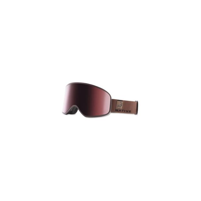 Native Eyewear - Native Tenmile Ski Goggle - Unisex - Exposure/Rose/Silver