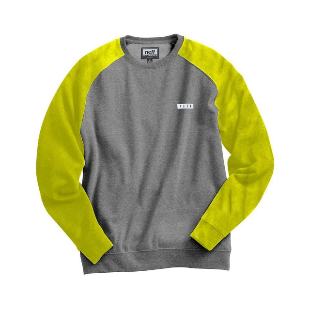Neff - Daily Fleece Crew Sweatshirt - Men's