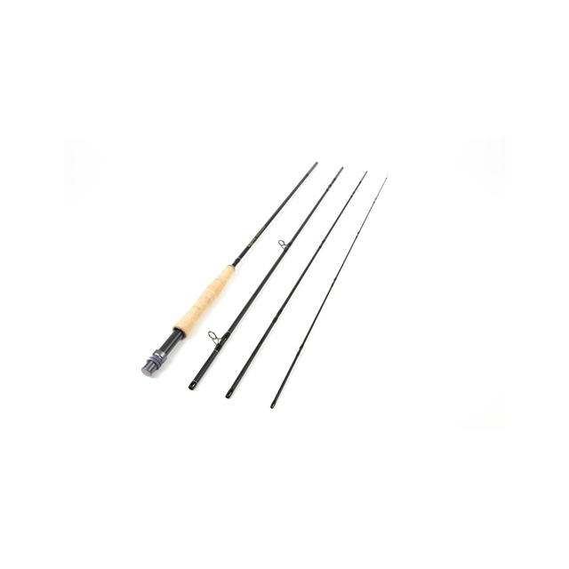 Temple Fork Outfitters - Lefty Kreh Professional Series II Fly Rod - Black,TF 02 80 3 P2