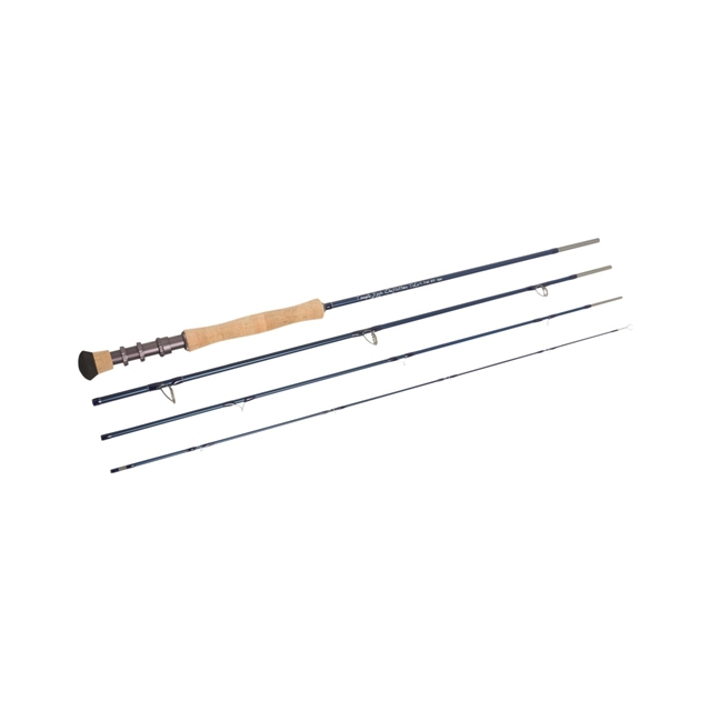 Temple Fork Outfitters - TiCr X Fly Rod - Blue,TF 05 90 4 X