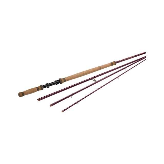 Temple Fork Outfitters - Deer Creek Spey Rods - Brown,TF 5/6 126 4 DC