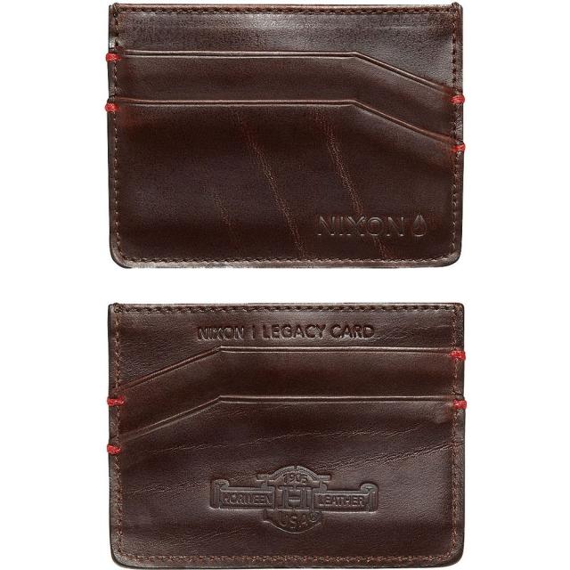 Nixon - Legacy Card Wallet - Brown