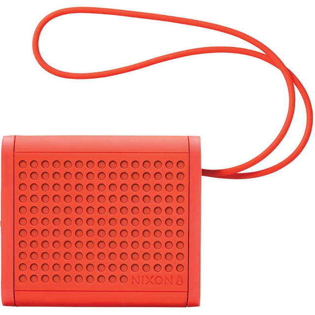 Nixon - Mini Blaster Speaker - Red Pepper