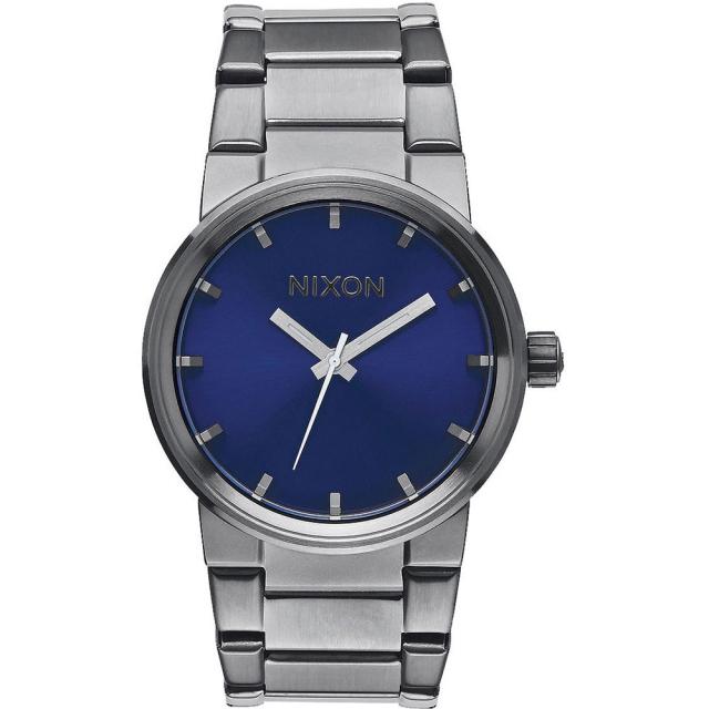 Nixon - Cannon Watch Mens - Gunmetal/Cobalt Stingray