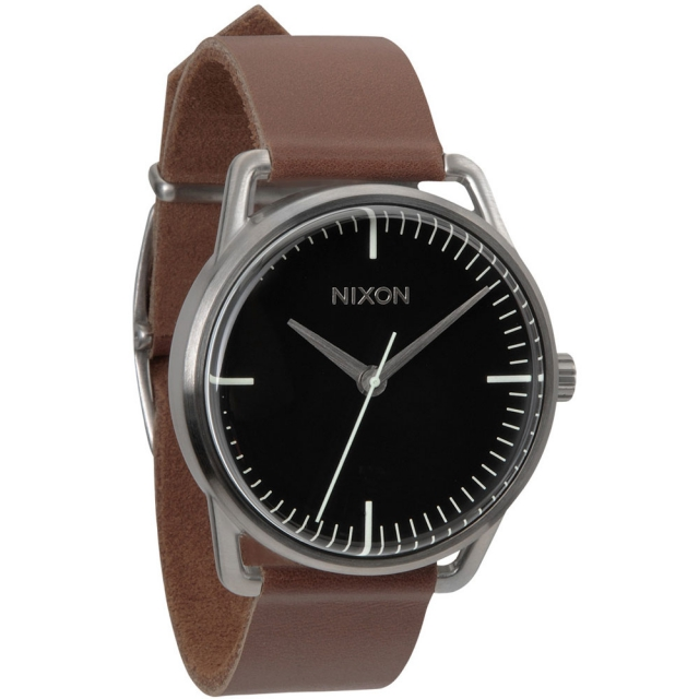 Nixon - Mellor Watch Mens - Black/Saddle