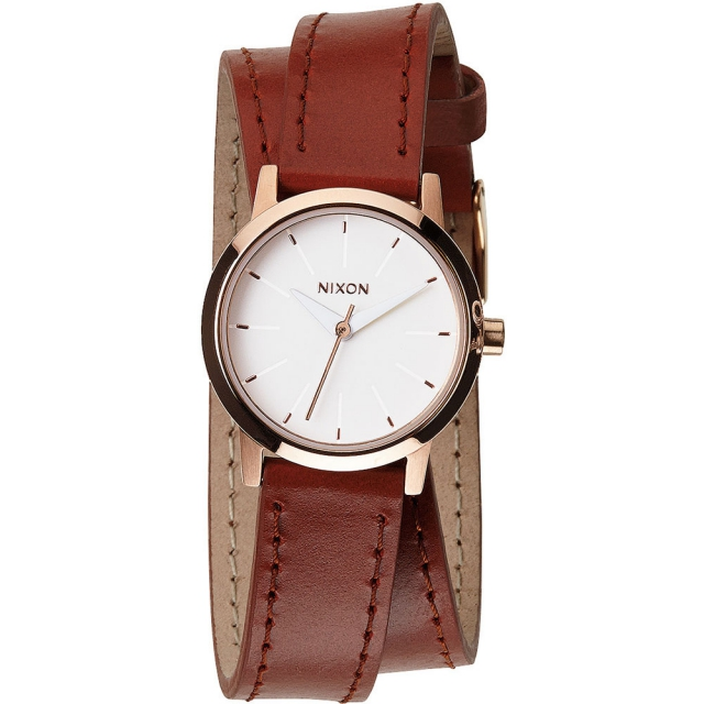 Nixon - Kenzi Wrap Watch Womens - Rose Gold/Saddle