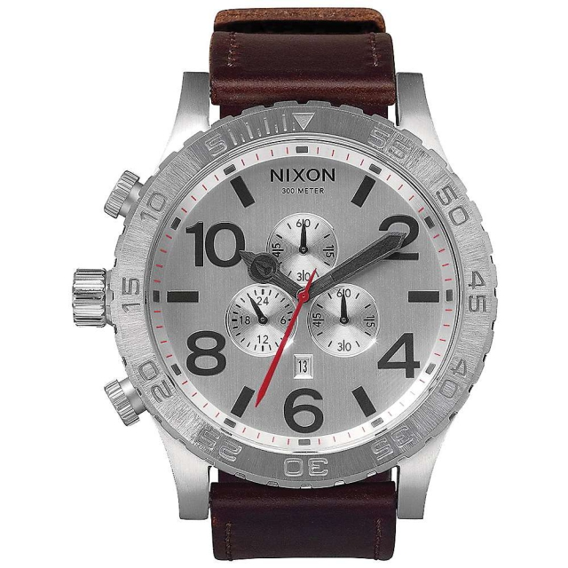 Nixon - Men's 51-30 Chrono Leather Watch