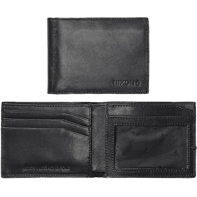 Nixon - Legacy Bi-Fold Wallet - Black