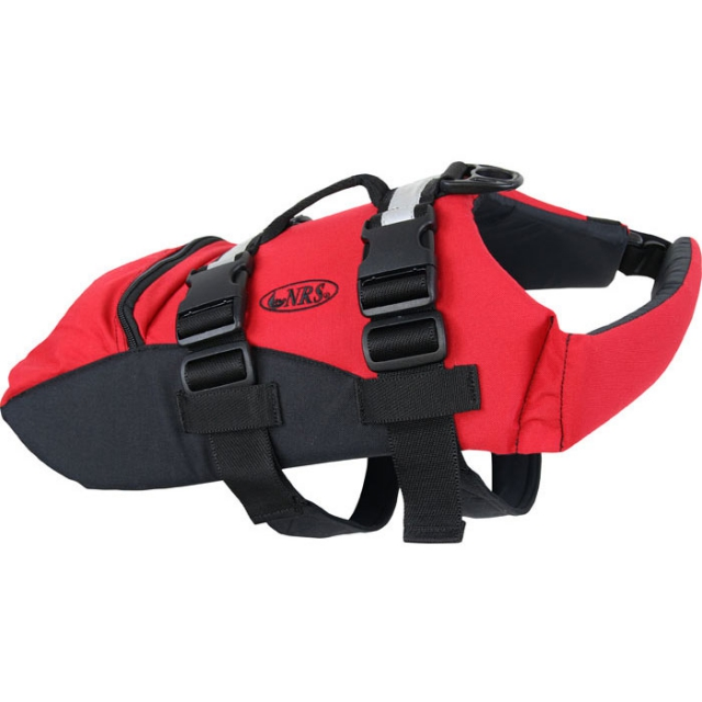 NRS - Canine Flotation Device C.F.D. - Red/Black