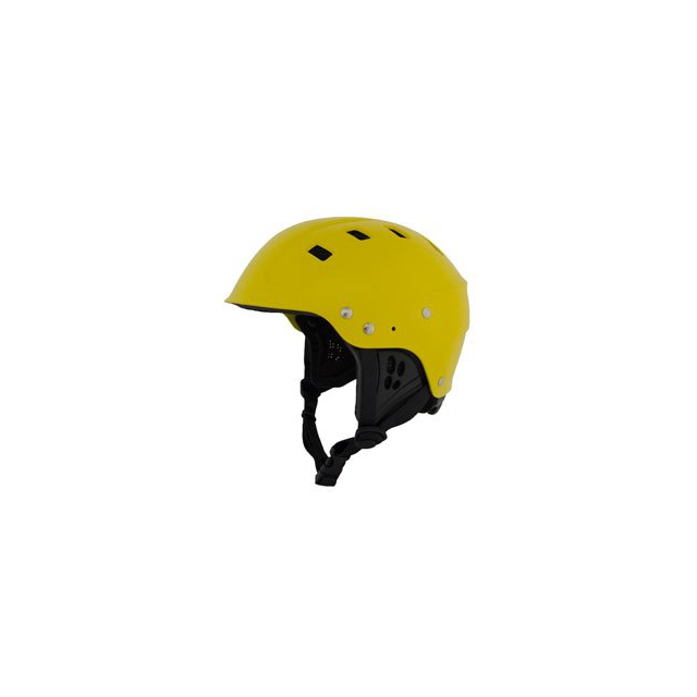 NRS - Chaos Side Cut Helmet - Yellow In Size
