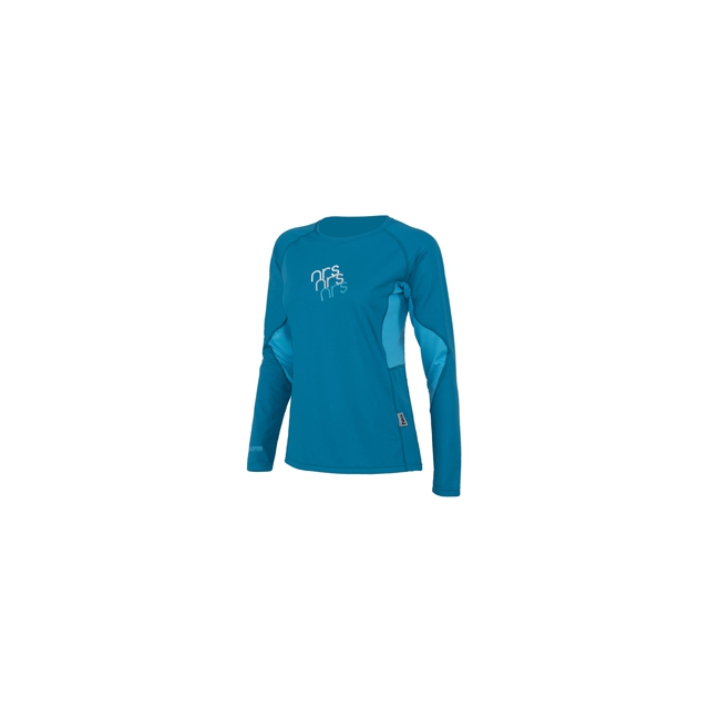 NRS - H2Core Silkweight Long-Sleeve Shirt - Women's - Ocean In Size: Extra Large