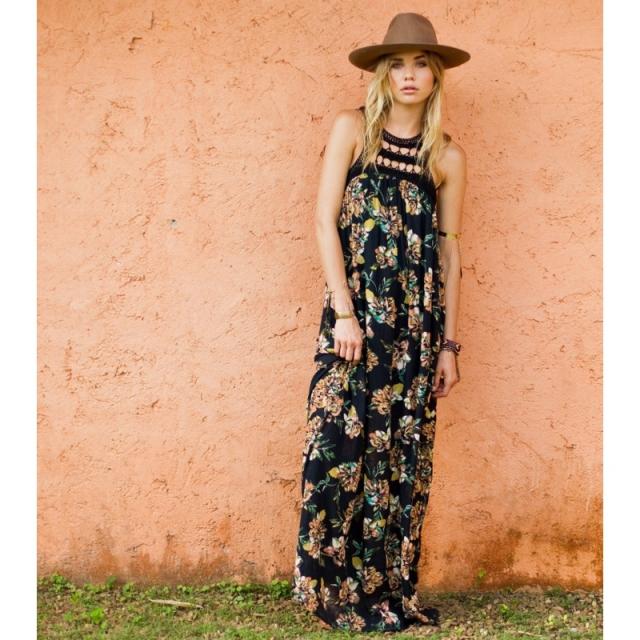 O'Neill - Moore Maxi Dress - Sale Black Medium