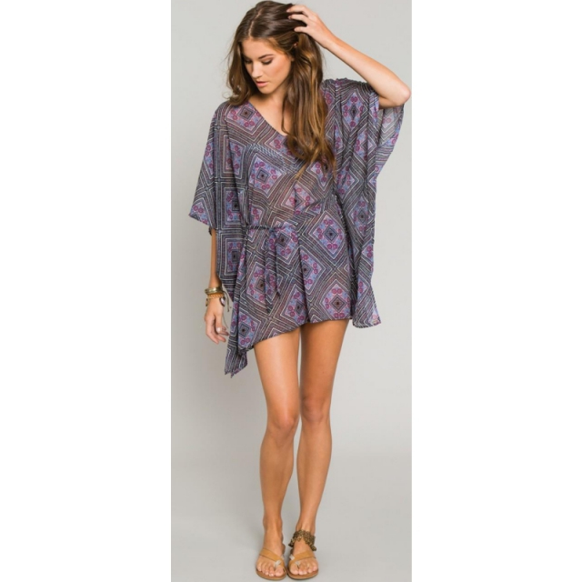 O'Neill - Adela Cover Up - Sale Blue X Small / Small