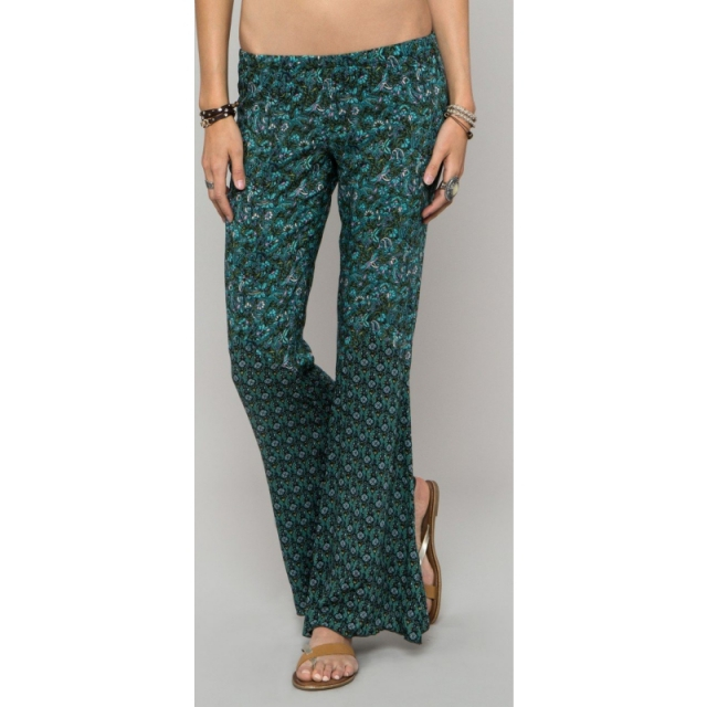 O'Neill - Womens Anna Sui Day Dreamer Pants - Sale Teal X Small