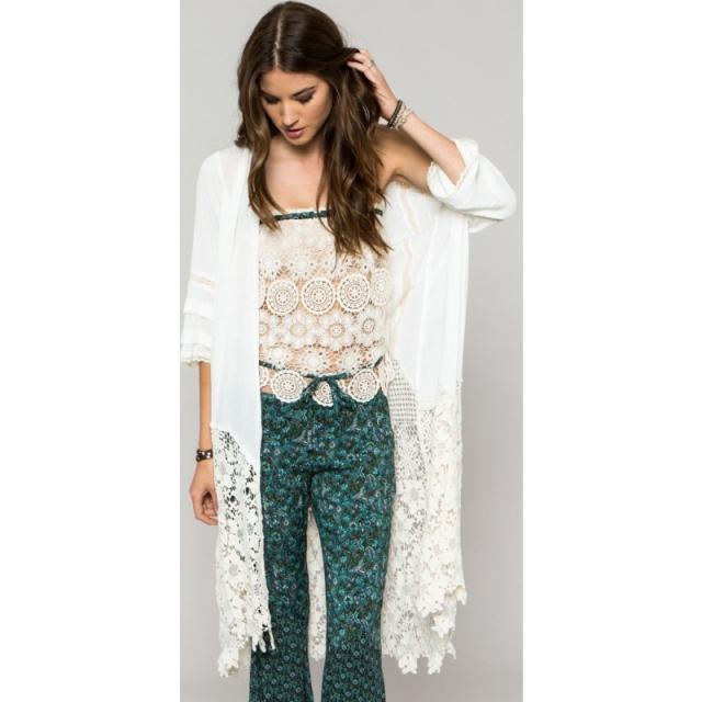 O'Neill - Womens Anna Sui Wanderer Kimono - Sale Winter White