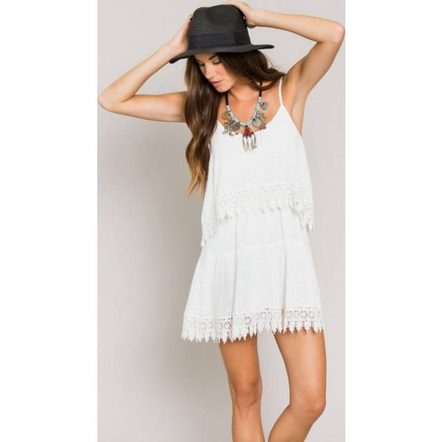 O'Neill - Womens Joan Dress - Closeout White Large