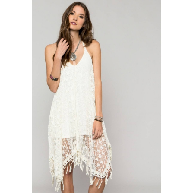 O'Neill - Womens Anna Sui Beacon Dress - Sale Winter White Large