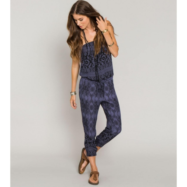 O'Neill - Womens Rumie Jumpsuit - Closeout Midnight X Small