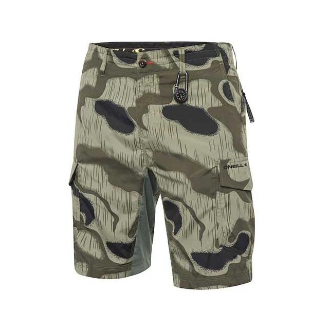 O'Neill - Traveler Hybrid Shorts - Men's: Camo, 30