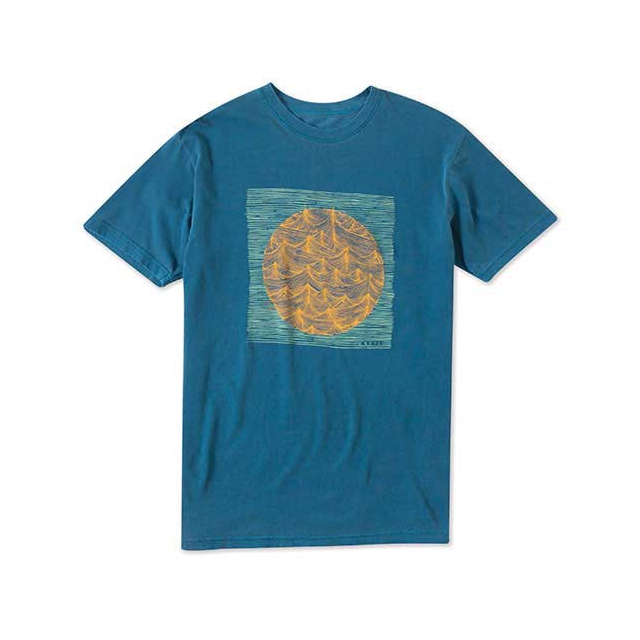 O'Neill - Trails Short Sleeve Tee - Men's: Dark Blue, Medium