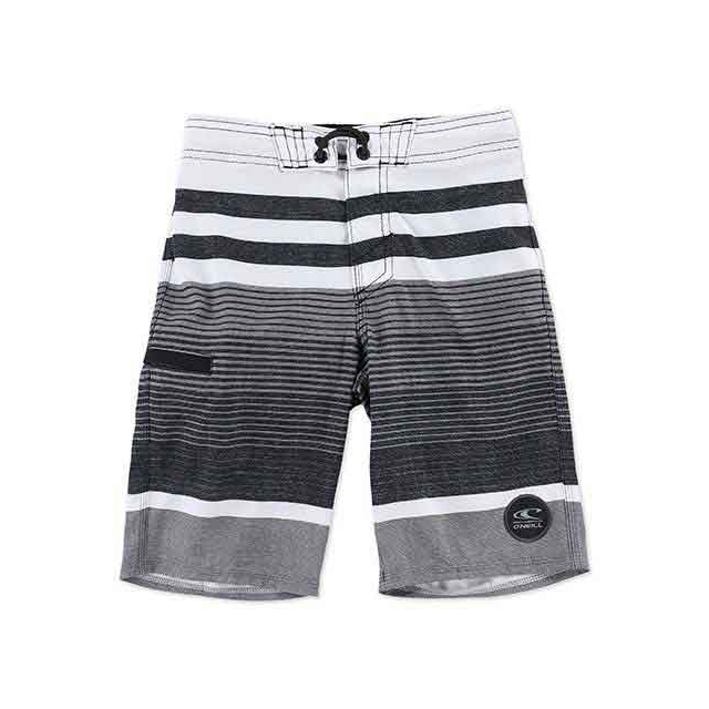 O'Neill - Heist Boardshorts - Boy's: Black, 22