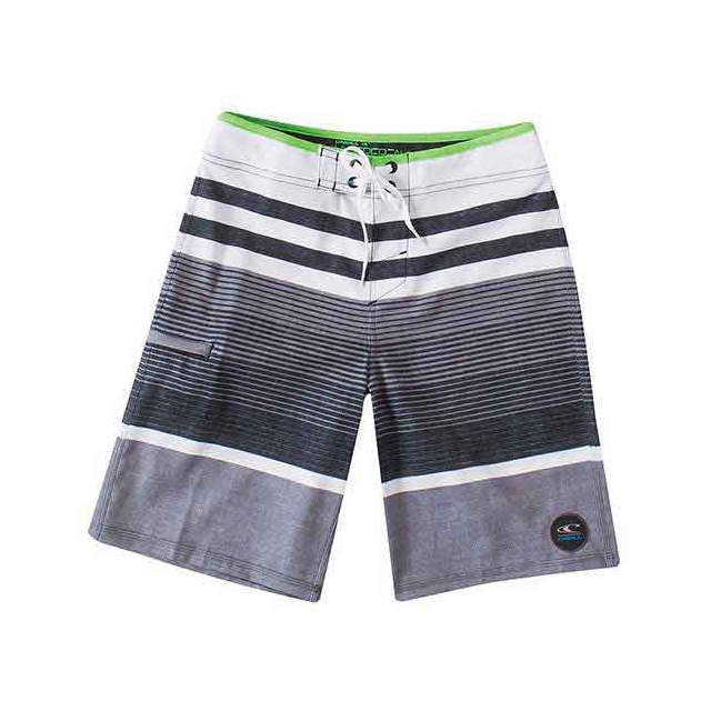 O'Neill - Lennox Boardshorts - Boy's: Charcoal, 22